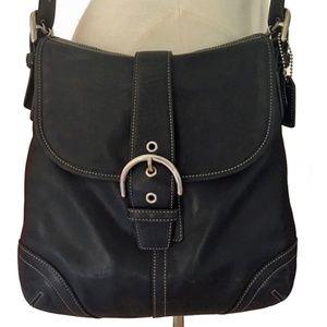Coach Soho Brown Soft Leather Cross Body Handbag